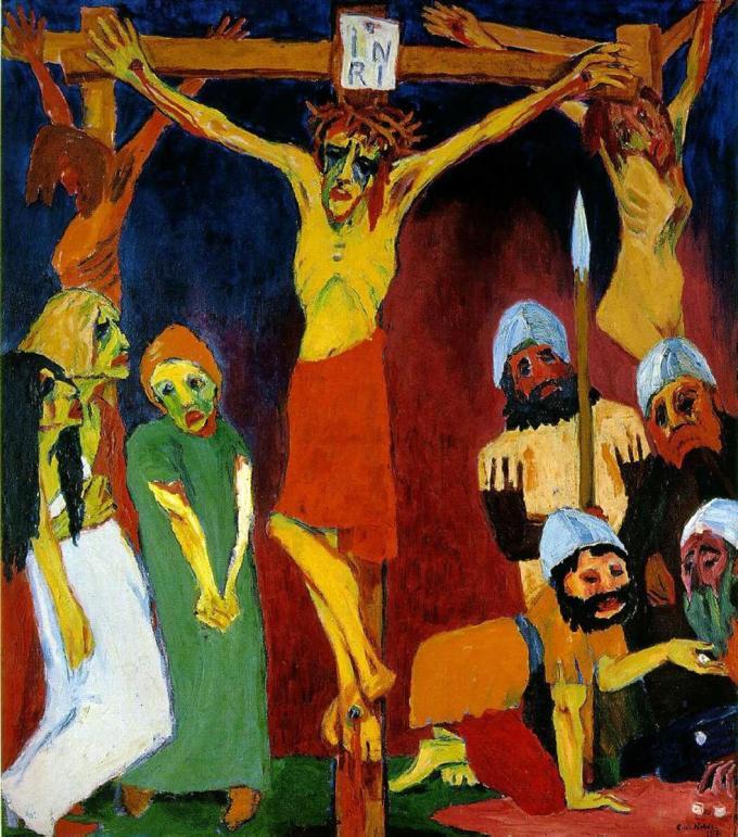 emil_nolde_crucifixion