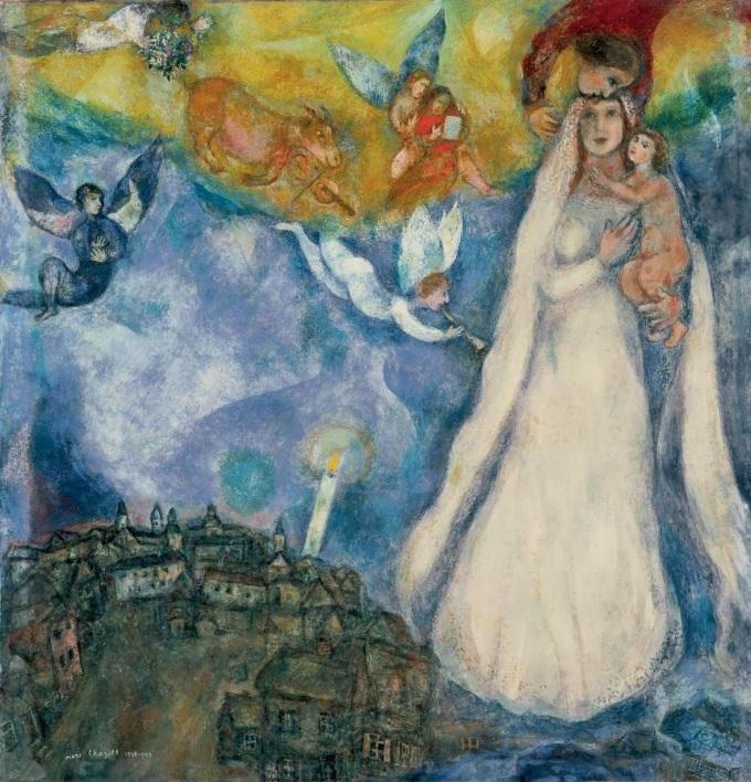 1938-Madonna-Chagall