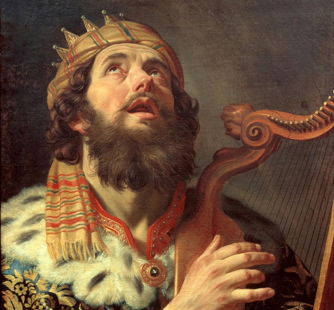 king-david-playing-the-harp-gerrit-van-honthorst